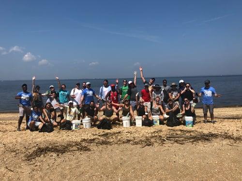 Beach Clean-up 2019 fun pic