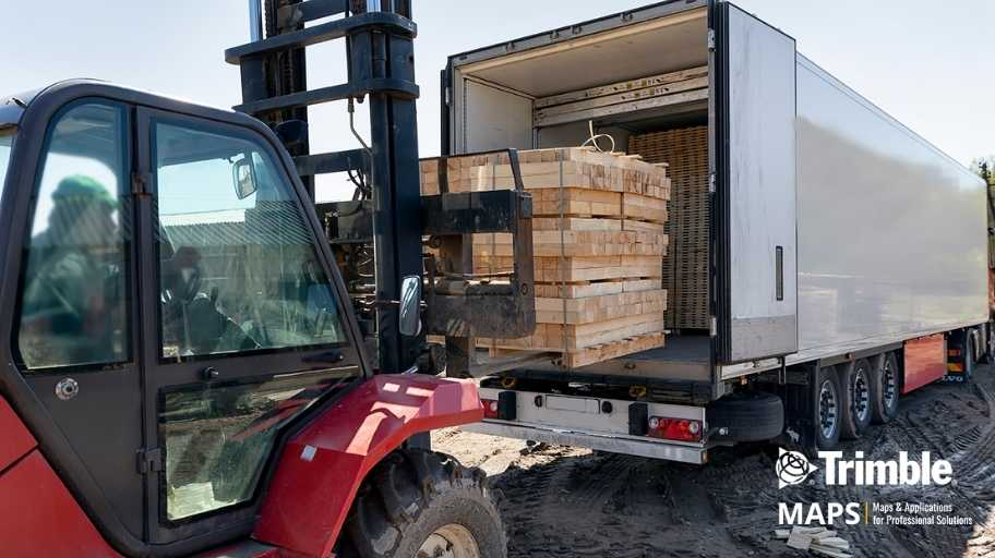 Routing in a Digital World for Building Supply Distributors