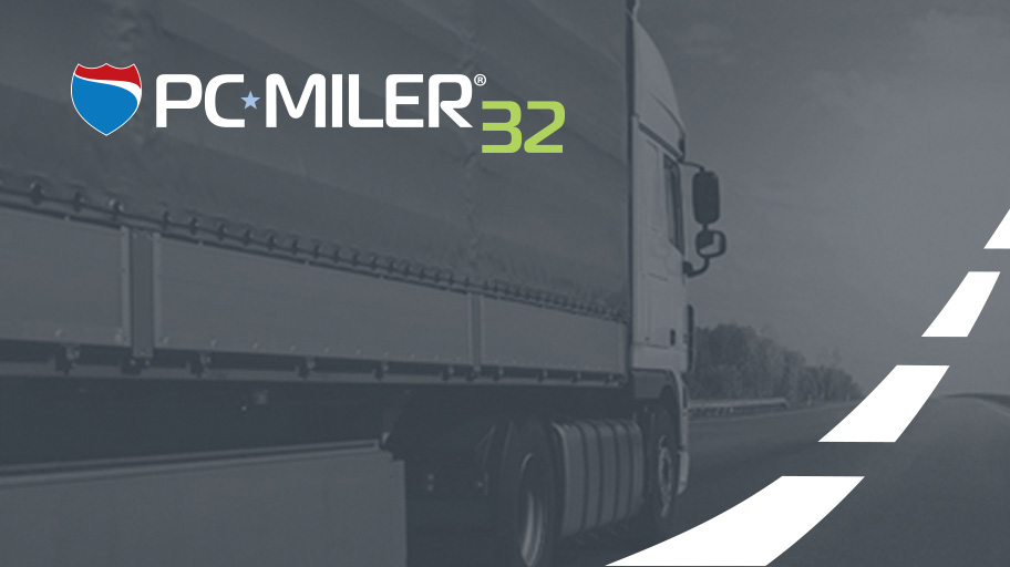 Convenience, delivered. Welcome to PC*MILER 32