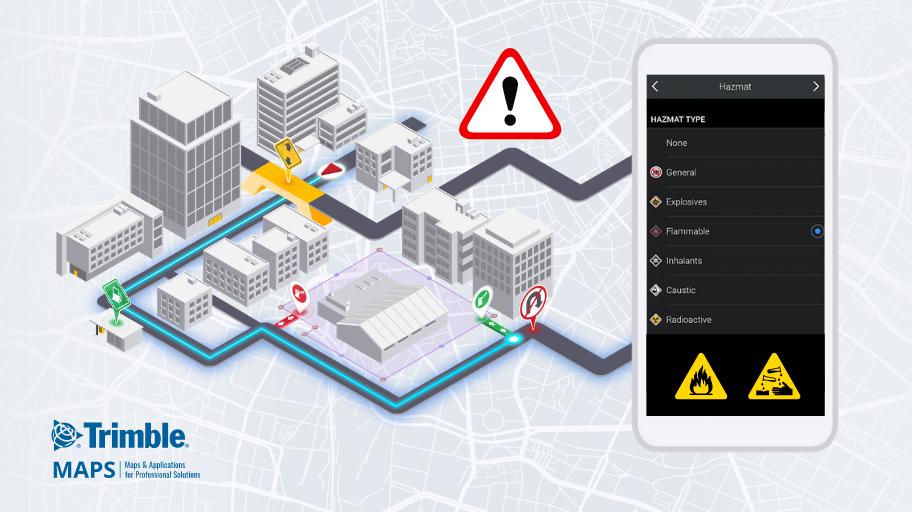 Transport Dangerous Goods Safely With Hazmat Routing And Navigation