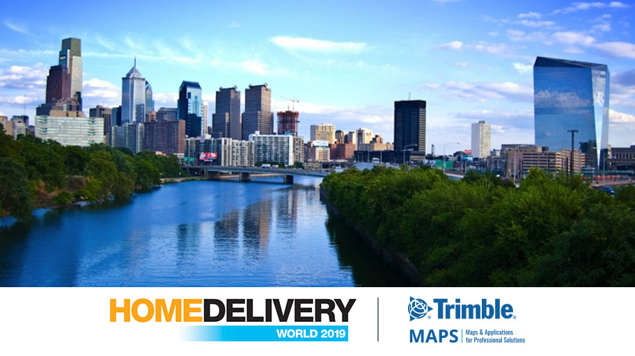 Trimble MAPS Takes the Stage at Home Delivery World 2019