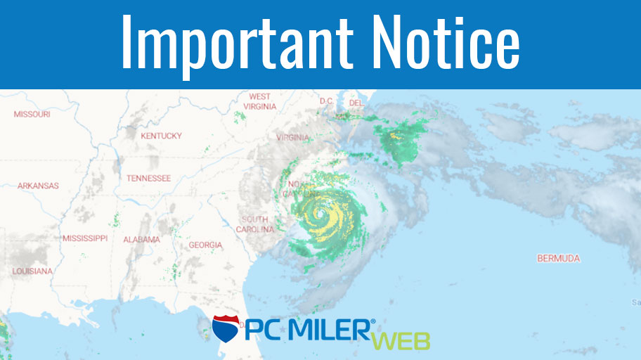 Important Notice - Hurricane Florence