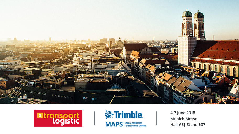 Meet Trimble MAPS at Transport & Logistic 2019 in Munich