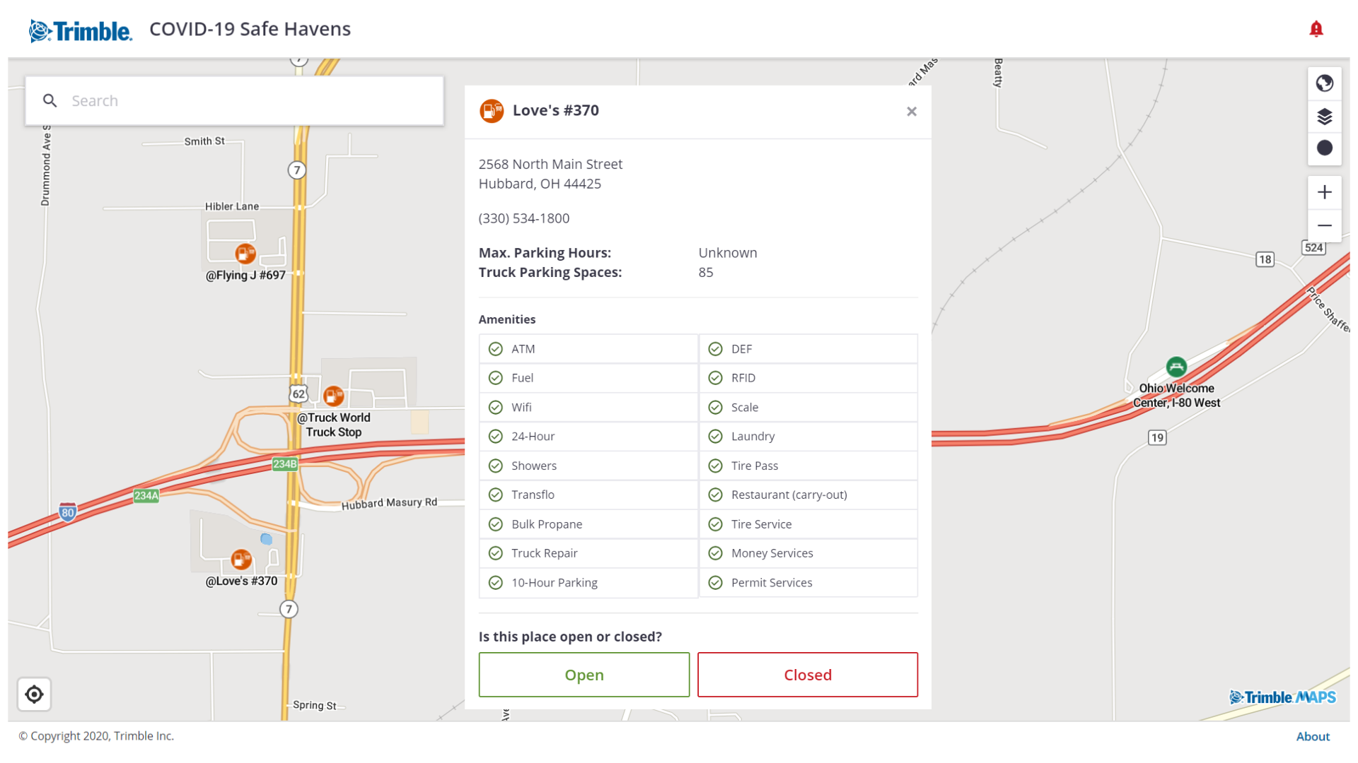 How we're using map intelligence to support the transportation community during COVID-19